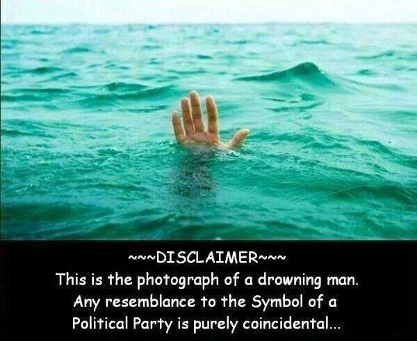drowning-man-not-congress-symbol